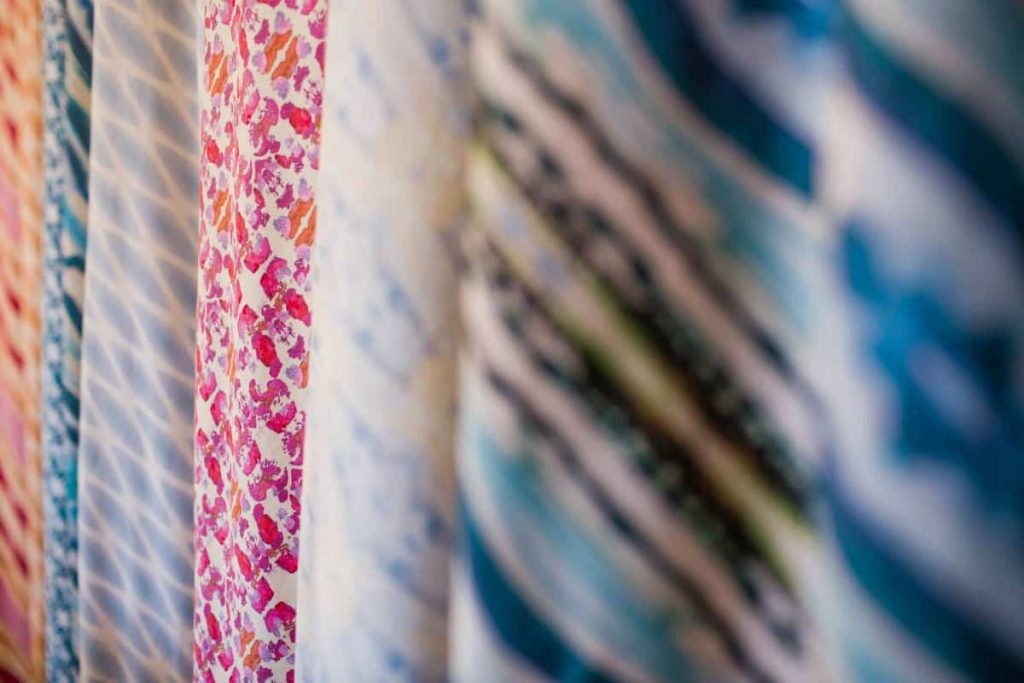 organic fabric sold by the yard by Linda Cabot Design