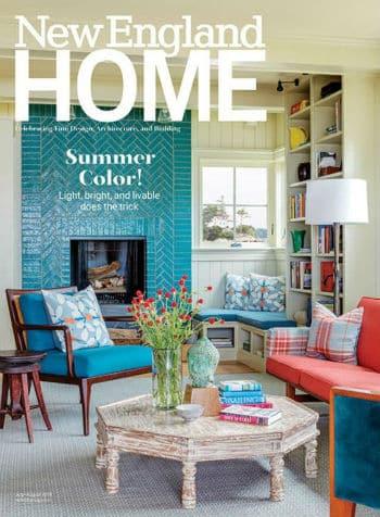 Cover New England Home July August 2019