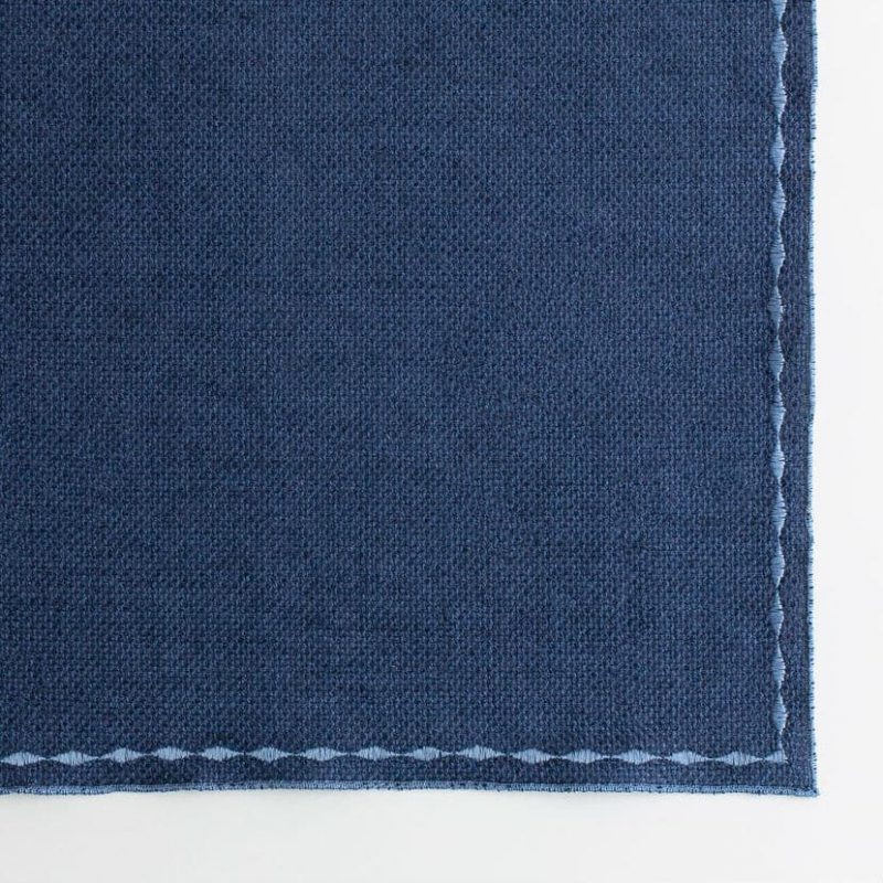 navy blue placemat