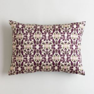 Merlot and Sage Oblong Pillow