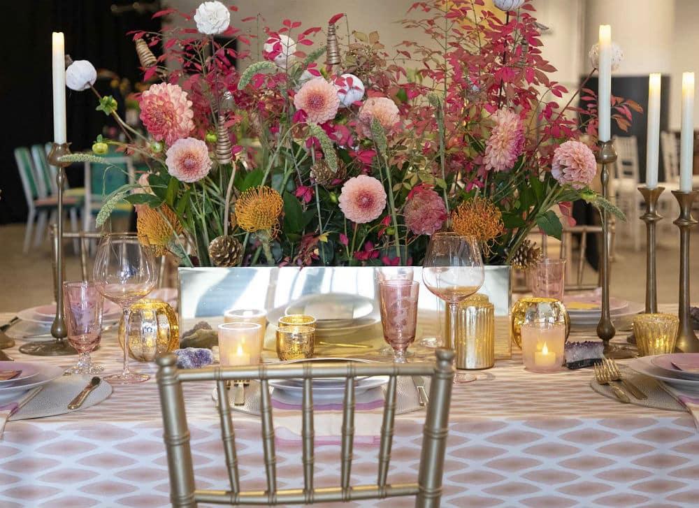 Floral design by Linda Cabot