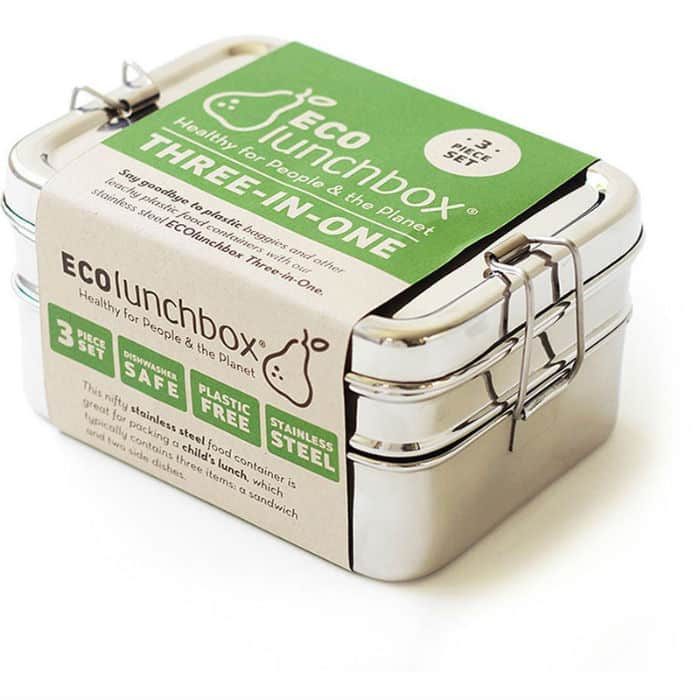 eco-friendly stainless steel lunch box