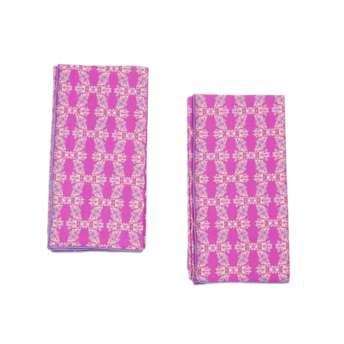 pink organic napkins