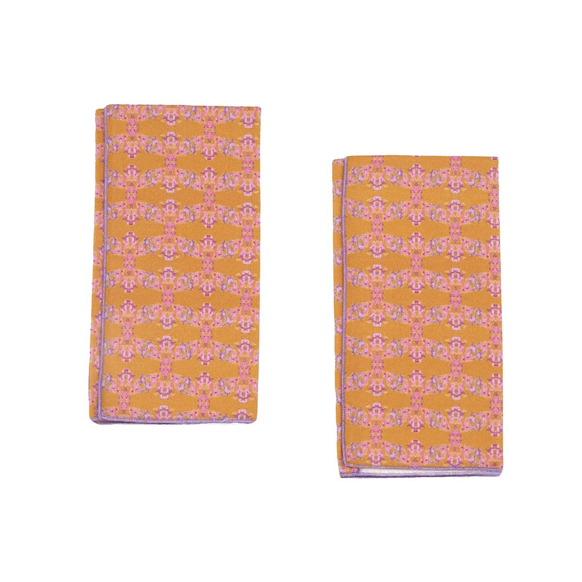 orange organic napkins