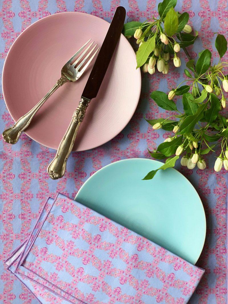colorful reusable napkins