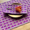 cheerful organic cloth napkin