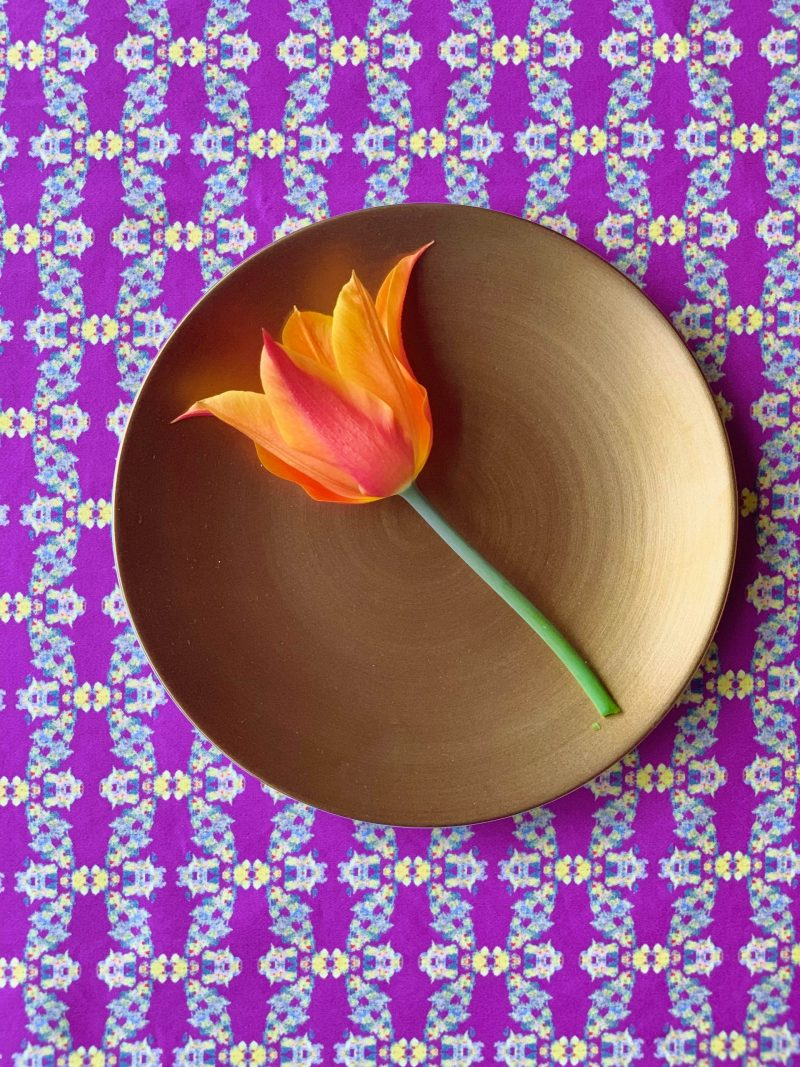 pretty sustainable table runner