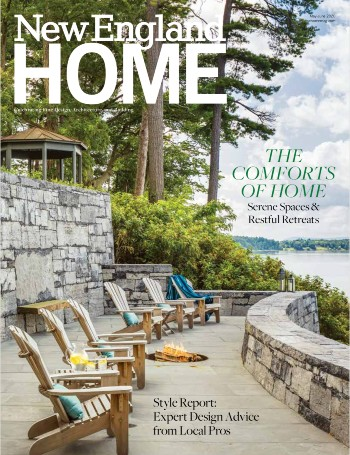 Cover New England Home May June 2020