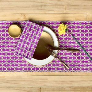 Sustainable fabric table runner