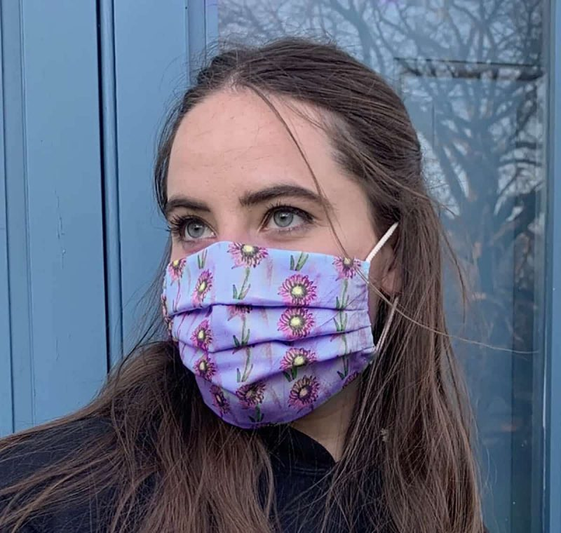 Daisy Face Mask