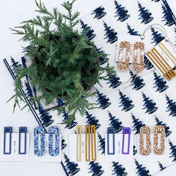 Nat + Noor hair clips