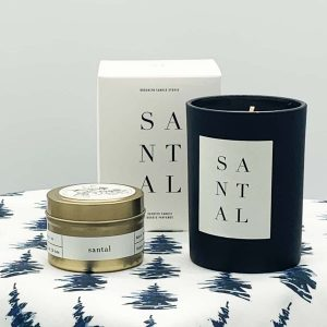 Santal Brooklyn Scented Soy Candles