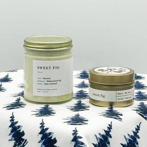 Sweet Fig Candle Set