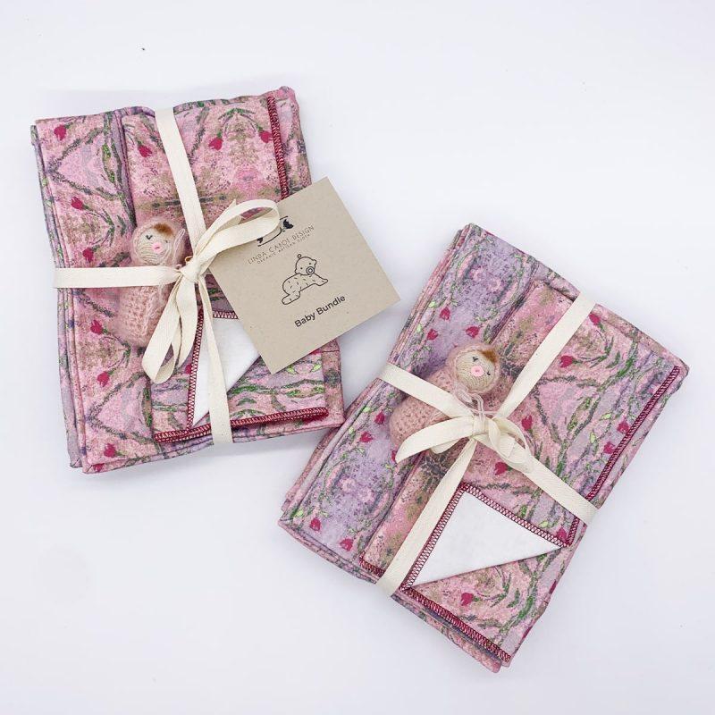 linda cabot design rose garden baby bundle