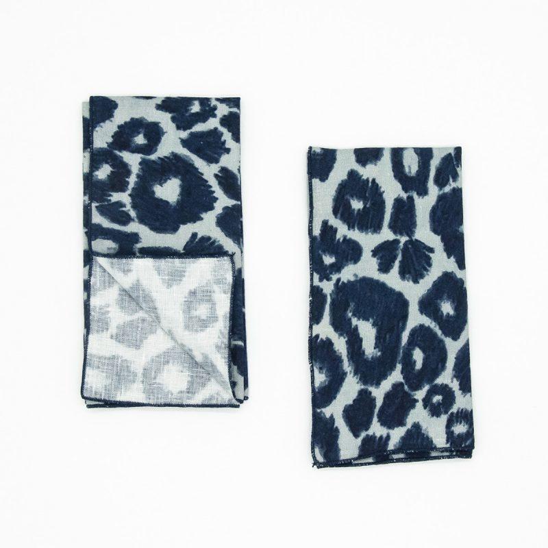 organic cheetah napkins