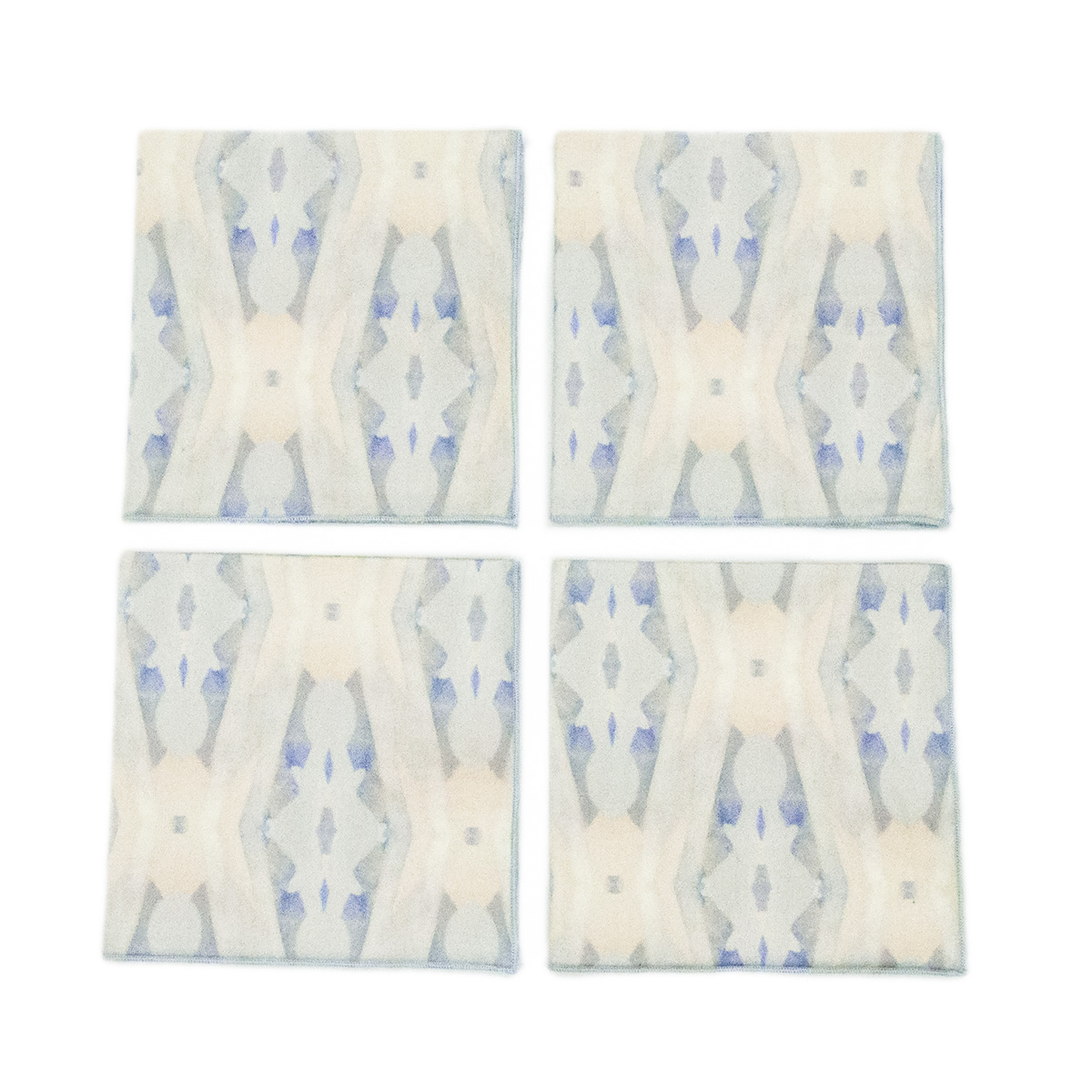 cream pattern cocktail napkins