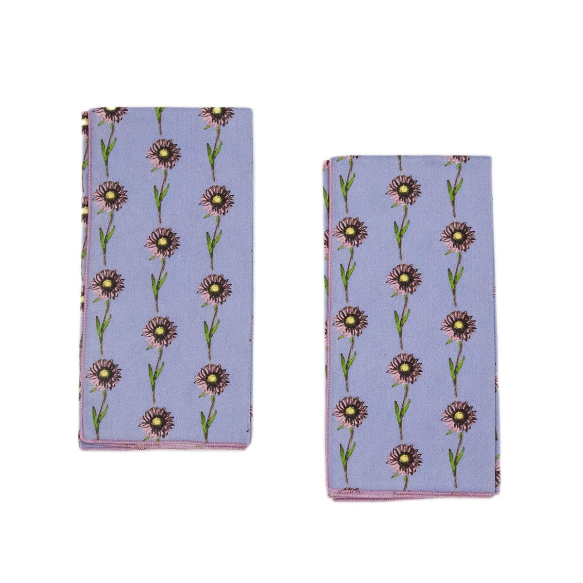 lavender organic napkins