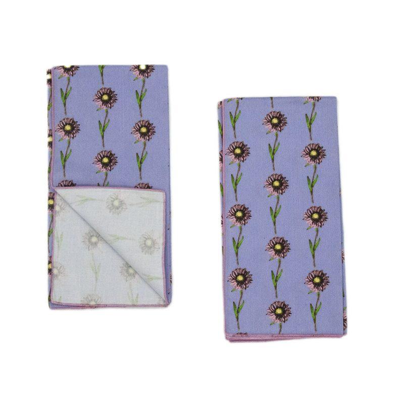 daisy print napkins