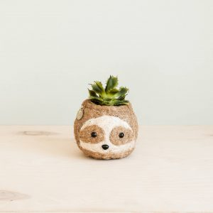 Sloth Coco Coir Planter