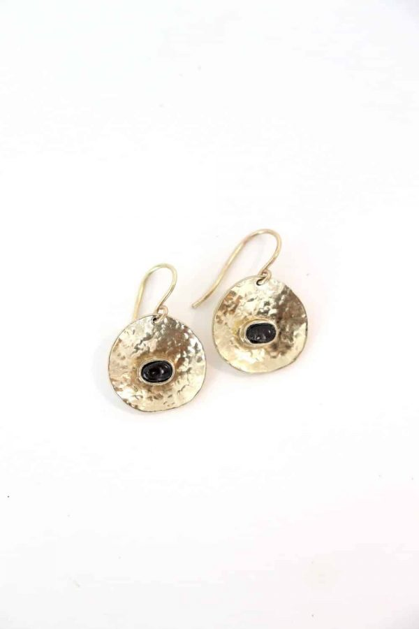 la gonave earrings black