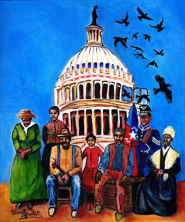 juneteenth freedom painting