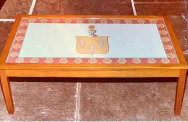 wooden handmade table