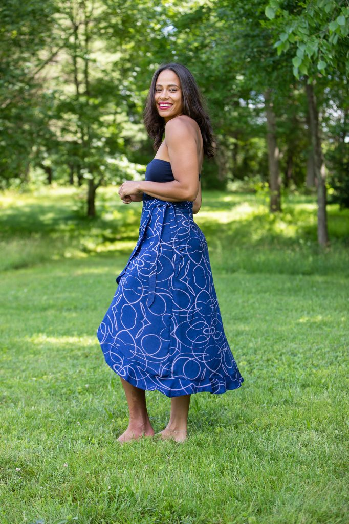 sustainable skirt for work