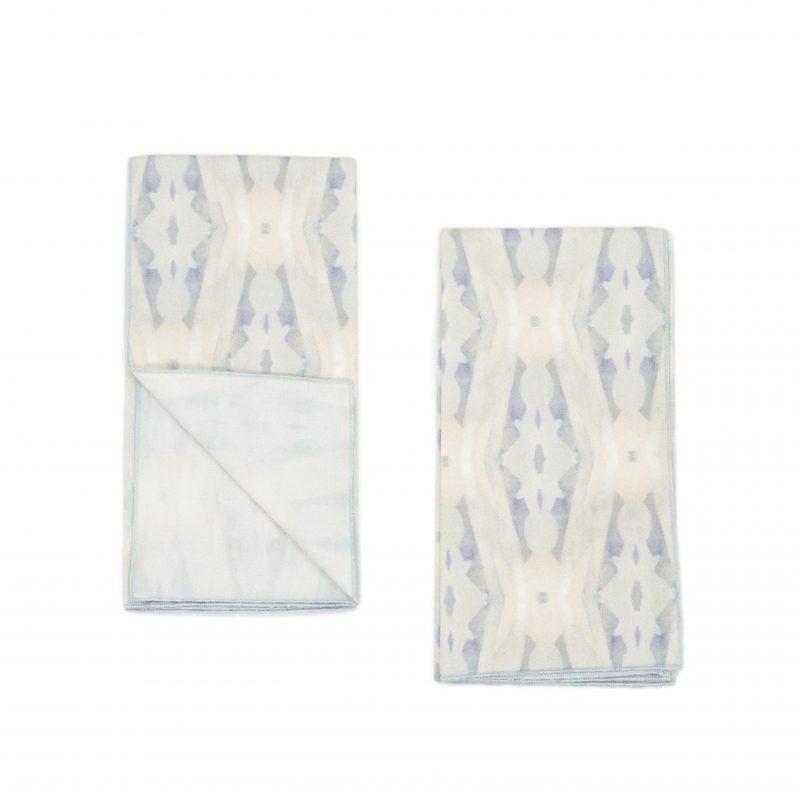 organic pattern napkins