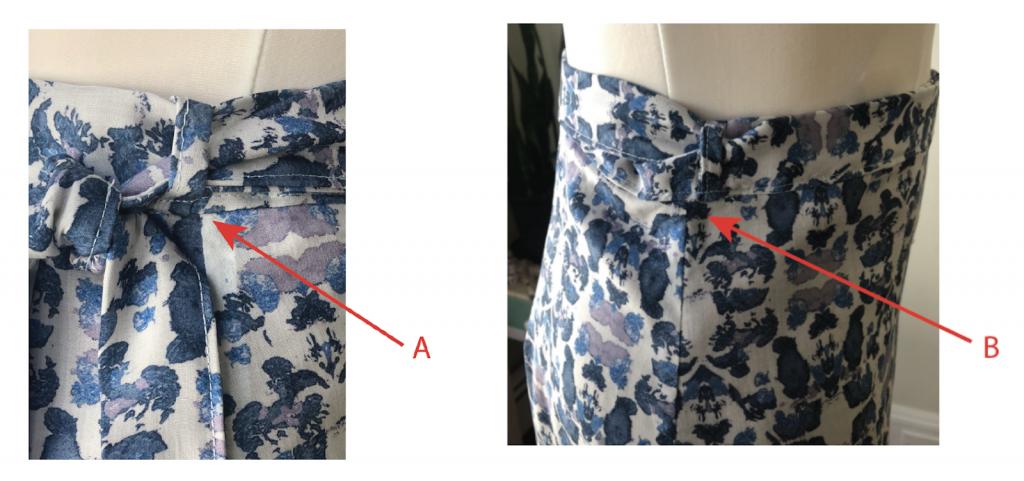 skirt prototype design