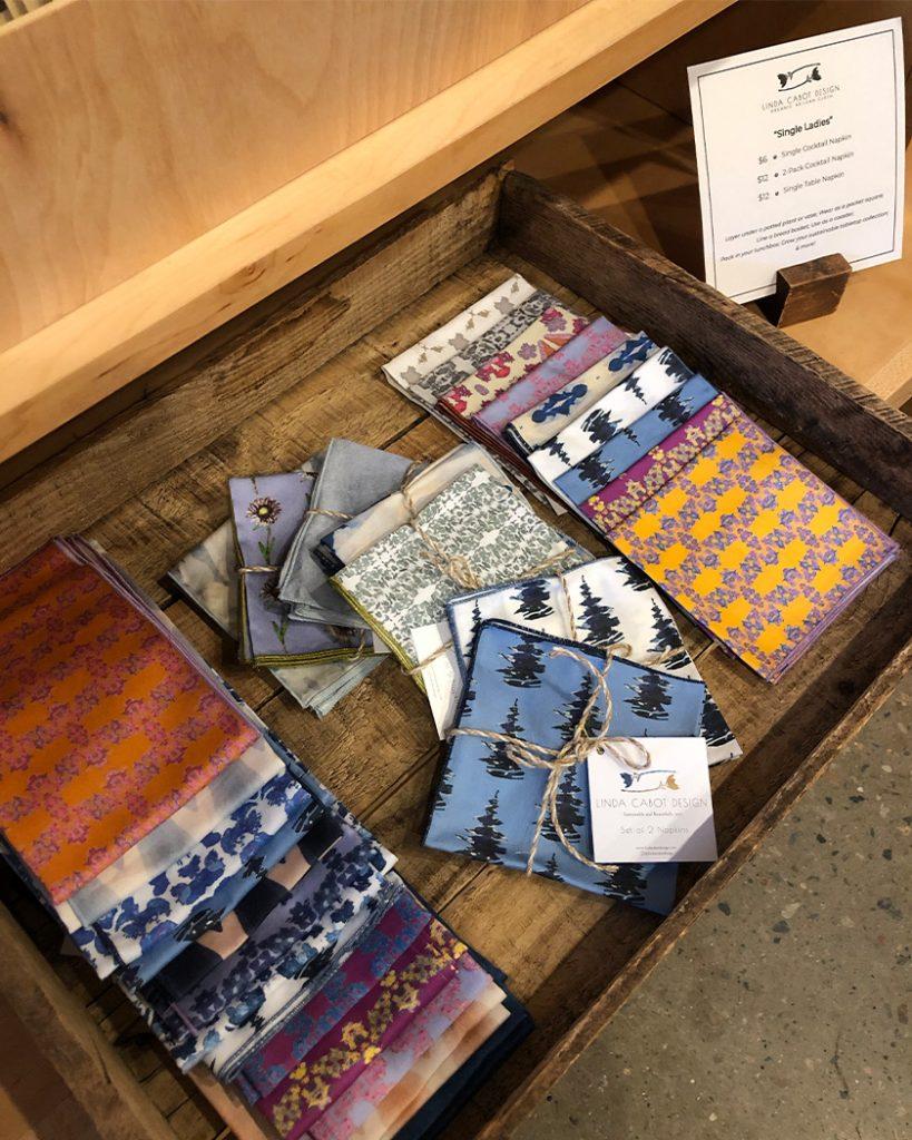 single napkins for sale at linda cabot design boutique